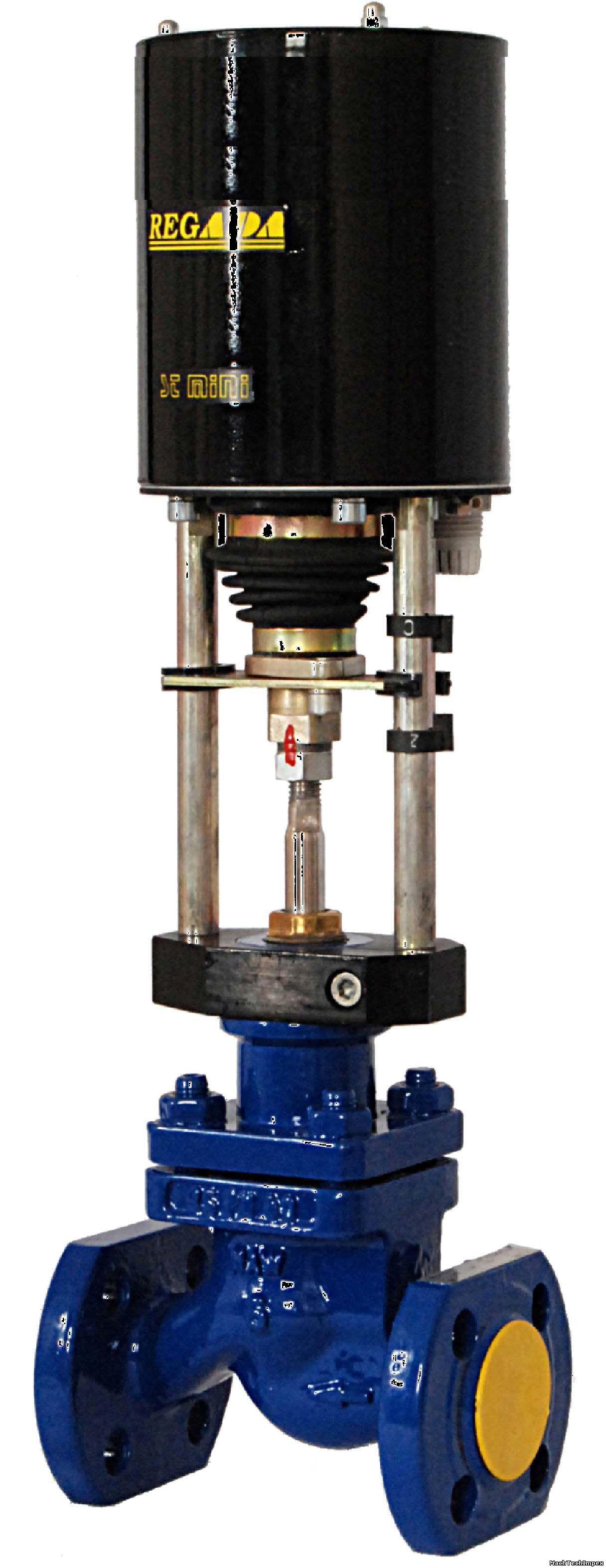 Клапан односедельный с ЭИМ ST mini, Старооскольского з-да, Kv=10,0