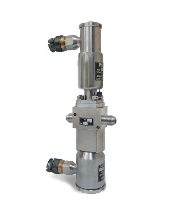 Клапан электромагнитный с разгружаемым золотником